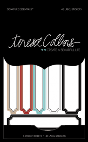 Teresa Collins Designs - Signature Essentials Label Stickers