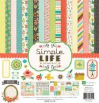 Echo Park Paper Company - Simple Life Collection by Deena Rutter - Collection Kit