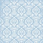 Teresa Collins Designs - Stationery Noted -  Damask  12x12 Paper