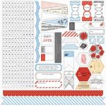 Teresa Collins Designs - Stationery Noted - Stickers