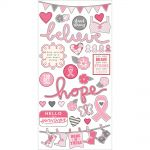 "Simple Stories - Hope - Simple Set Cardstock Stickers 6""X12"" - Fundamentals"