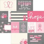 "Simple Stories - Hope - Simple Set Double-Sided Elements Cardstock 12""X12"" - Elements 1"