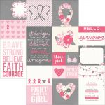 "Simple Stories - Hope - Simple Set Double-Sided Elements Cardstock 12""X12"" - Elements 2"