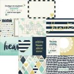"Simple Stories - Heart - Simple Set Double-Sided Elements Cardstock 12""X12"" - Elements 1"