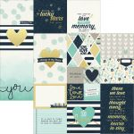 "Simple Stories - Heart - Simple Set Double-Sided Elements Cardstock 12""X12"" - Elements 2"