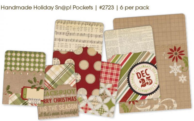 Simple Stories - Handmade Holiday - Snap Pockets