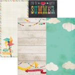 "Simple Stories - I Heart Summer - 6x12 Page Elements 12"" x 12"""