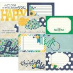 Simple Stories - A Charmed Life Collection - 12 x 12 Paper - 4x6 Horizontal Journaling Card Elements