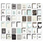 Simple Stories - 3x4 Sn@p! Cards 48 Pack - Wedding