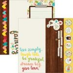 "Simple Stories - We Are Family - Double-Sided Elements Cardstock 12""X12"" - 2""X12"", 4""X12"" & 6""X12"" Elements"