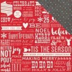 "Simple Stories - Claus & Co Double-Sided Cardstock 12""X12"" - Good Cheer"