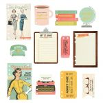 Simple Stories - Carpe Diem - The Reset Girl Dashboard Inserts A5 12/Pkg - Foil Accents