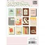"Simple Stories - Carpe Diem - The Reset Girl Double-Sided Pocket Cards 3""X4"" 12/Pkg - Foil Accents"