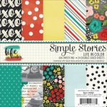 "Simple Stories - Life in Color Double-Sided Paper Pad 6""X6"" 24/Pkg"