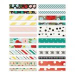 "Simple Stories - Life in Color Washi Paper Tape 3""X4"" Sheets 24/Pkg"