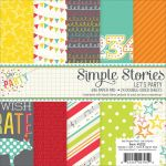 "Simple Stories - Let's Party Double-Sided Paper Pad 6""X6"" 24/Pkg"