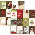"Simple Stories - Cozy Christmas - Double-Sided Elements Cardstock 12""X12"" - 3""X4"" Journaling Card Elements"