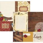 "Simple Stories - Legacy - Double-Sided Cardstock 12""X12"" - 4""X4"" Quote & 6""X8"" Photo Mat Elements"