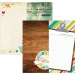 "Simple Stories - Good Day Sunshine Double-Sided Elements Cardstock 12""X12"" - 6""X12"" Page Elements"