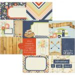 "Simple Stories - Under The Stars Double-Sided Elements 12""X12"" - 3""X4"" Journaling Cards"