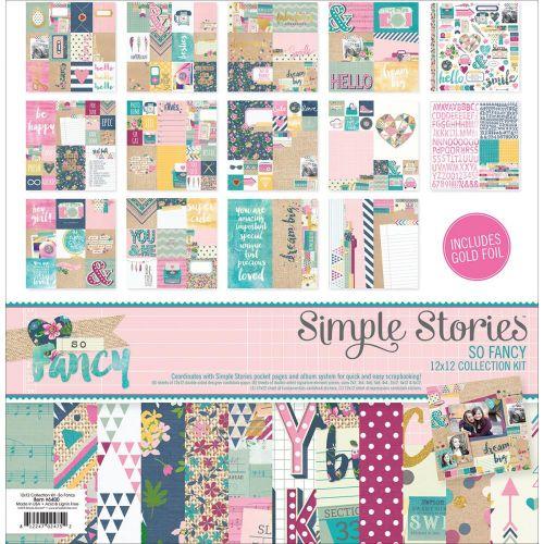 "Simple Stories - So Fancy - Collection Kit 12""X12"""