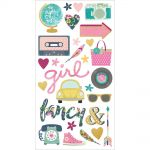 "Simple Stories - So Fancy - Chipboard Stickers 6""X12"""