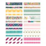 "Simple Stories - So Fancy - Washi Paper Tape 3""X4"" Sheets 24/Pkg"