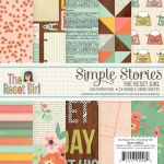 "Simple Stories - Carpe Diem - The Reset Girl, 12 Designs/2 Each Double-Sided Paper Pad 6""X6"" 24/Pkg"