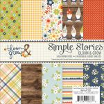 "Simple Stories - Bloom & Grow - Double-Sided Paper Pad 6""X6"" 24/Pkg"