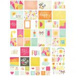 Simple Stories - Sunshine & Happiness - Sn@p! Card Pack 122/Pkg