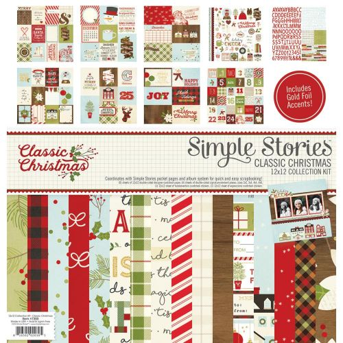 "Simple Stories - Classic Christmas - Collection Kit 12""X12"""