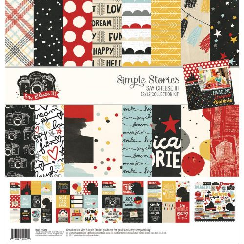 "Simple Stories - Say Cheese III - Collection Kit 12""X12"""