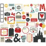 Simple Stories - Say Cheese III - Ephemera Bits & Pieces Die-Cuts 53/Pkg