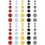 Simple Stories - Say Cheese III - Enamel Dots Embellishments 60/Pkg