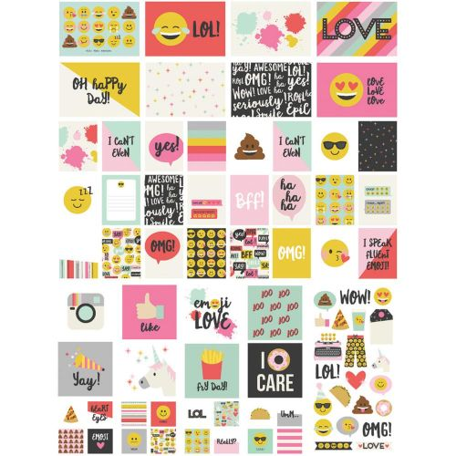 Simple Stories - Emoji Love - Sn@p! Card Pack 112/Pkg