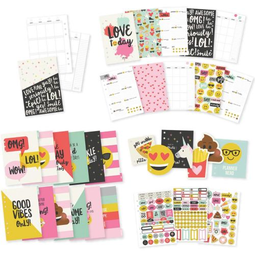 Simple Stories - Emoji Love - Carpe Diem Planner Inserts A5