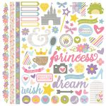 Simple Stories - Enchanted - Fundamentals Stickers