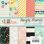 Simple Stories - I AM  - 6X6 Paper Pad