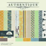 Authentique - Strong - Eight by Eight Paper Pad