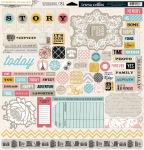 Teresa Collins Designs - Summer Stories - Chipboard Elements