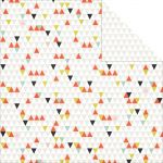 Teresa Collins Designs - Something Wonderful - Geometric 12 x 12 Double Sided Patterned Paper