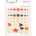 Teresa Collins Designs - Something Wonderful - Enamel Dots & Shapes