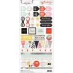 Teresa Collins Designs - Something Wonderful - 6x12 Decorative Stickers