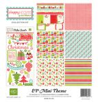 Echo Park Paper Company - Mini Themes - Happy Holidays - Collection Kit