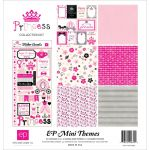 Echo Park Paper Company - Mini Theme - Princess Collection - Collection Kit