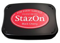 Tsukineko - Staz On - Black Cherry - Solvent Ink Pad