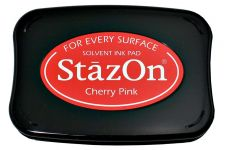 Tsukineko - Staz On - Cherry Pink - Solvent Ink Pad