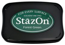 Tsukineko - StazOn - Forest Green - Solvent Ink Pad