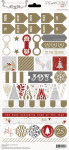 Teresa Collins Designs - Tinsel & Company - Decorative Stickers
