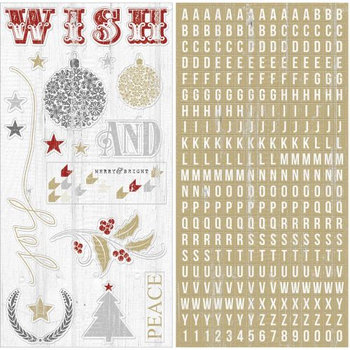 Teresa Collins Designs - Tinsel & Company - Chipboard Elements